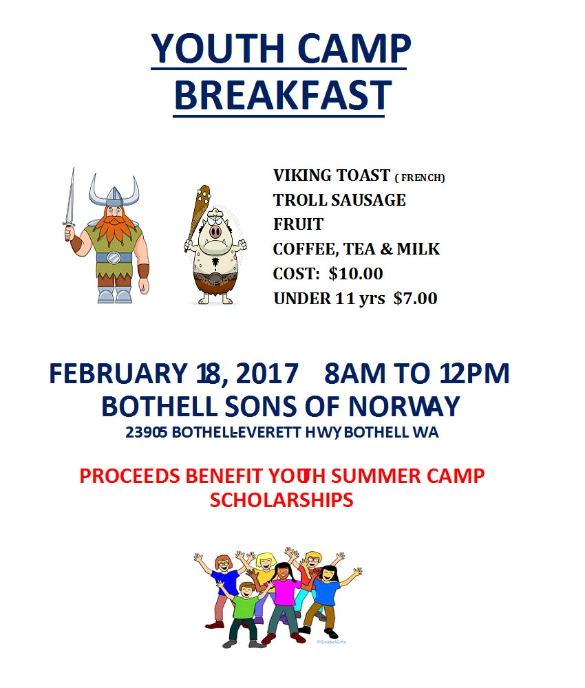 Youth Camp Breakfast 2017